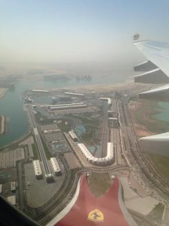 Abu Dhabi F1 circuit