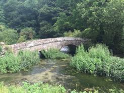 a pretty bridge on the River Lathkill